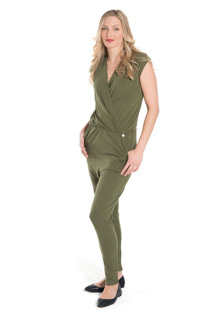 Amazing  Womens Ladies Aishina Khaki Lace Up Insert Jumpsuit Playsuit  EBay